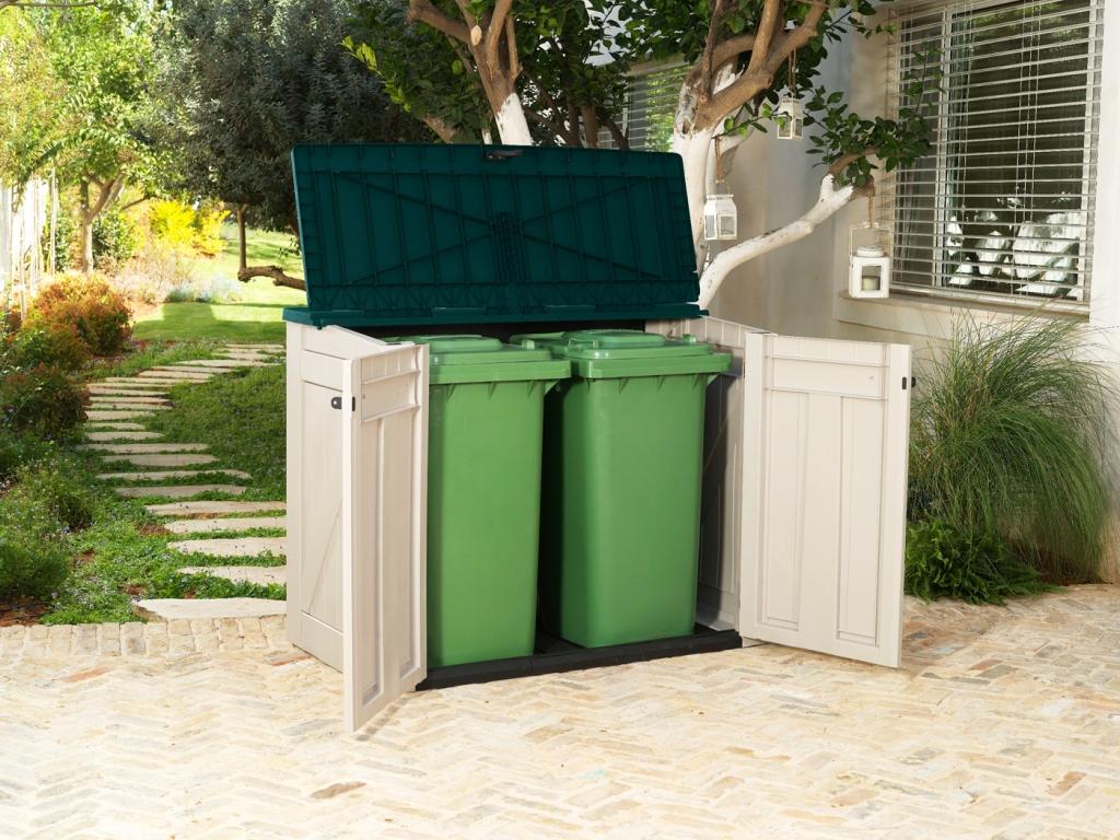 Ящик для мусора даче