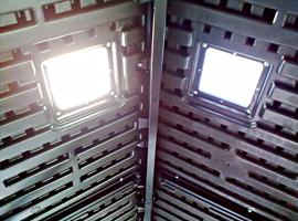световые окна в крыше