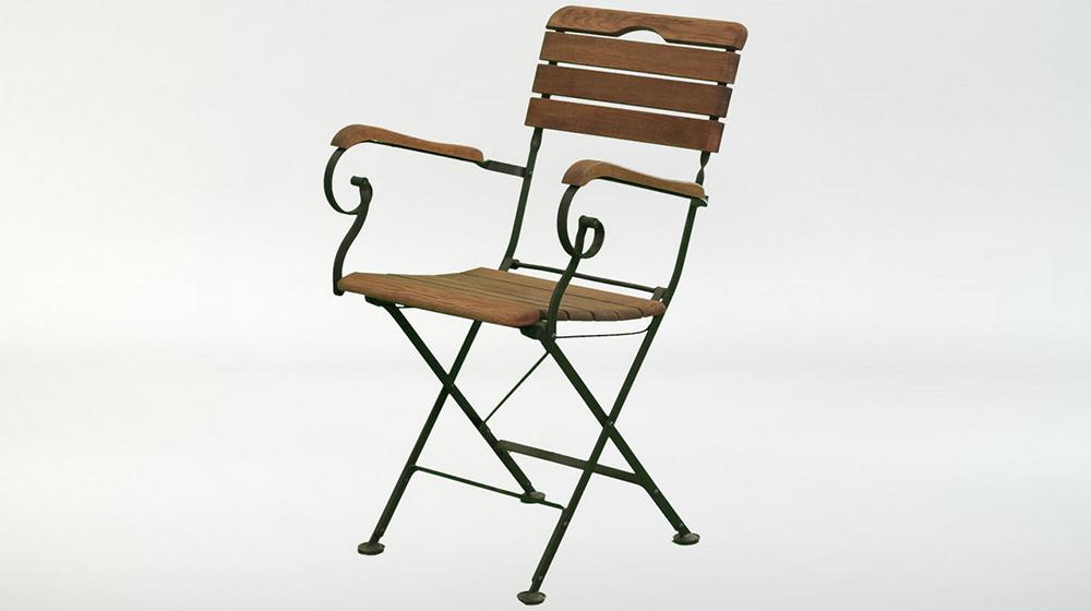 складное кресло holzhof