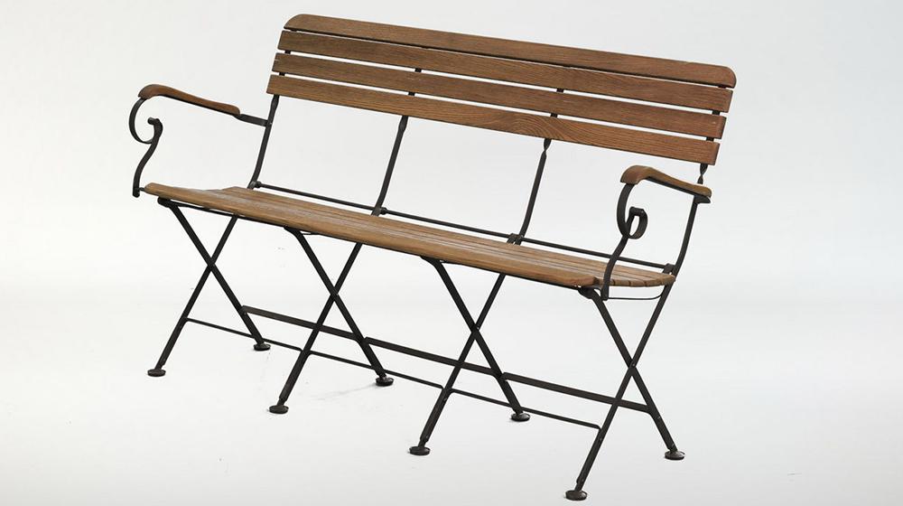 кованая мебель - скамья