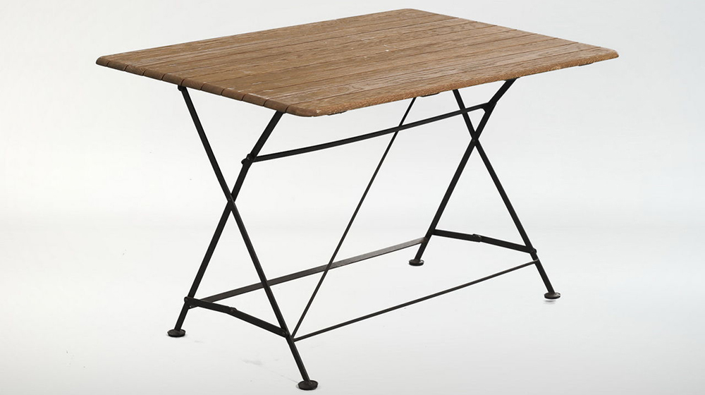 складной кованый стол на 4 персоны