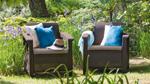пластиковые кресла с подушками corfu duo