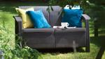 Двухместный диван для террасы