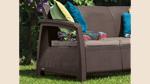 трехместный диван для беседки