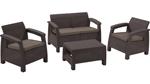 комплект мебели с двухместным диваном Corfu Set