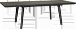 раздвижной стол для загородного дома