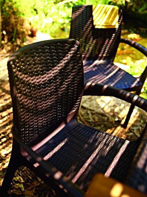 стул для уличной мебели Bali