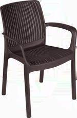 стул с эксклюзивным плетение Paradise