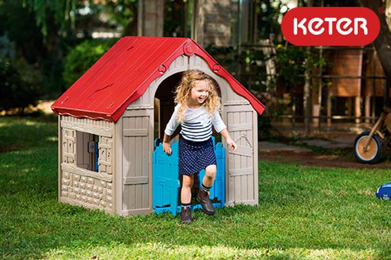 пластиковые детские домики KETER