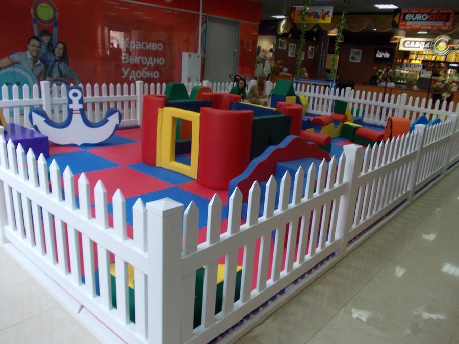 Заборчики на детских площадках